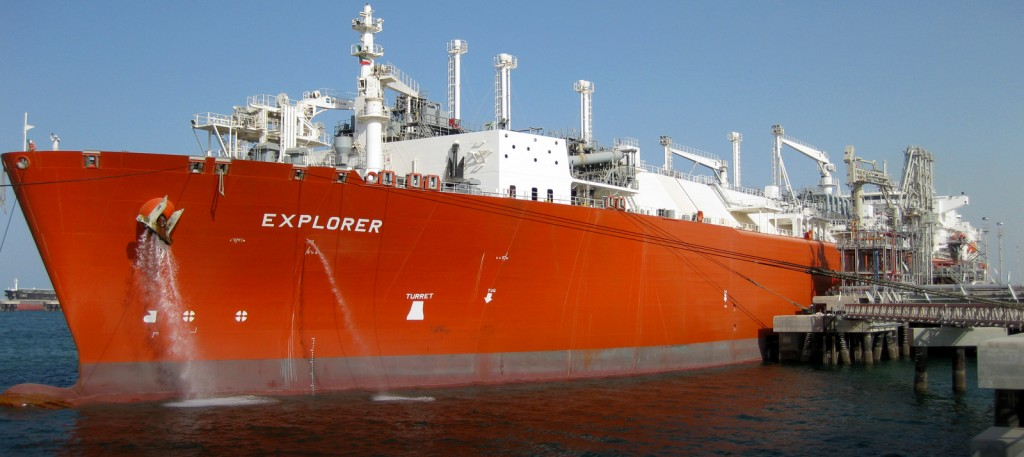 explorer vessel lng