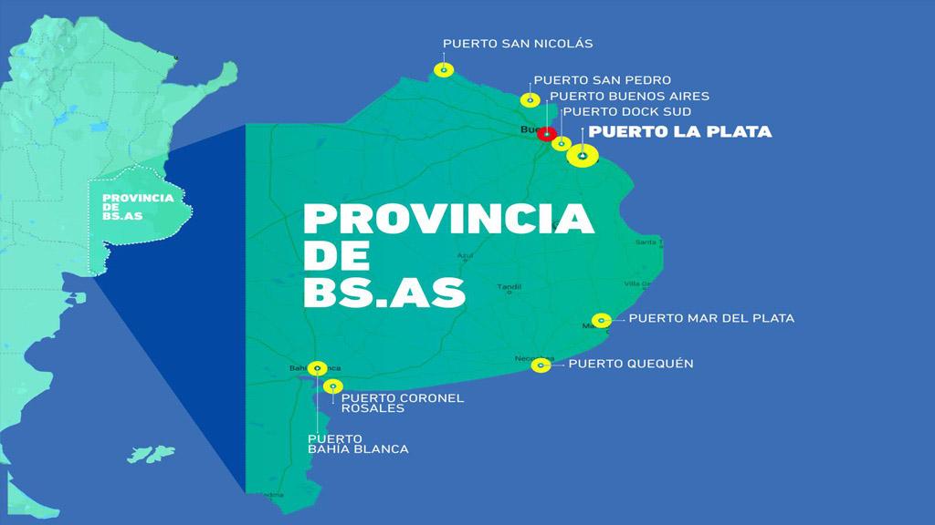 Lanzan en la provincia de Buenos Aires el Primer Congreso de Actividades Portuarias