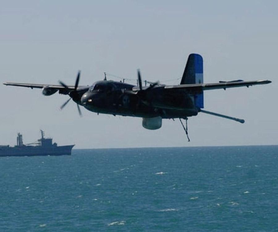 Con el retiro del último Tracker, la Aviación Naval pierde capacidad de control del mar