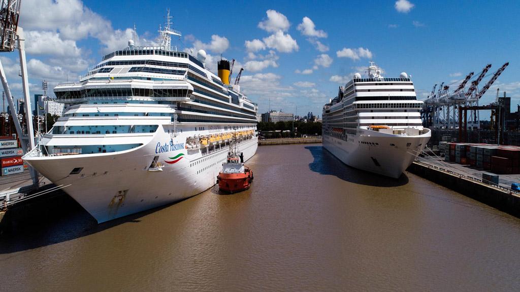 La AGP bonifica tasas en el puerto de Buenos Aires para fomentar la llegada de cruceros