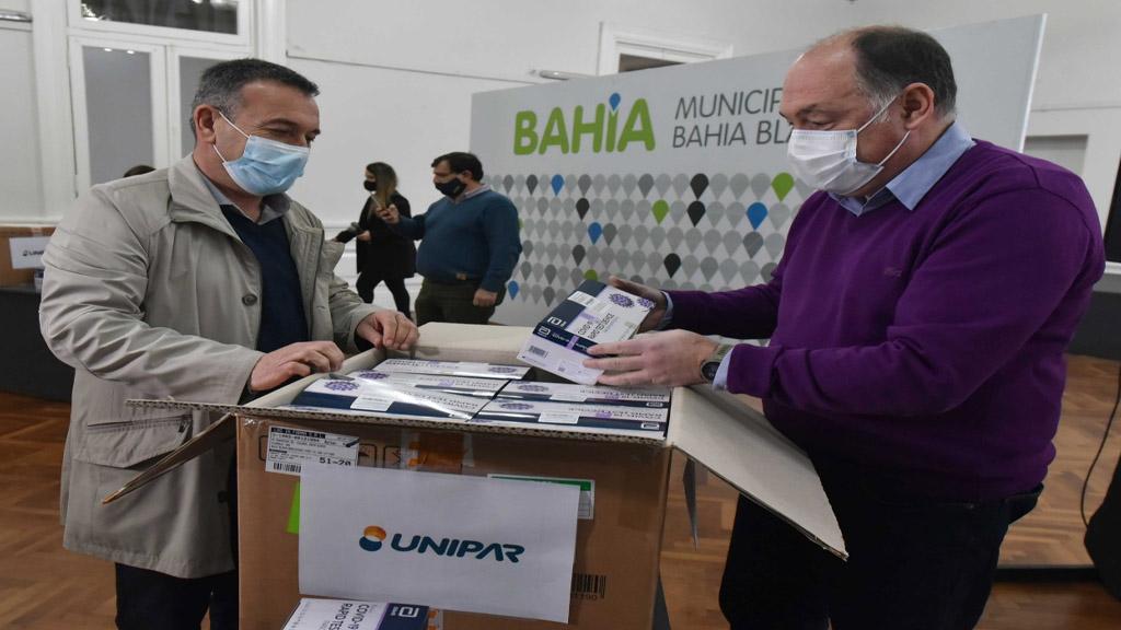Bahía Blanca: la petroquímica Unipar aportó más de 5 millones de pesos al sistema de salud