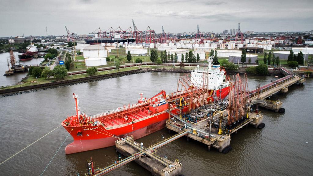 Dock Sud ya forma parte de la Coalición Global de Puertos de Hidrógeno