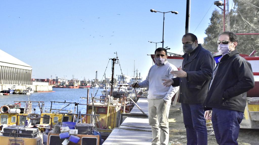Mirá el video de cómo será el nuevo muelle de pescadores en Bahía Blanca