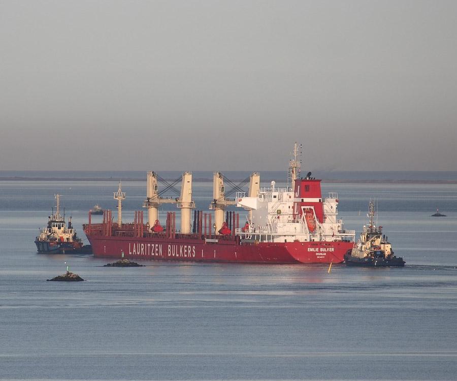 Por la escasez de oferta de portacontenedores apelan al uso de buques graneleros