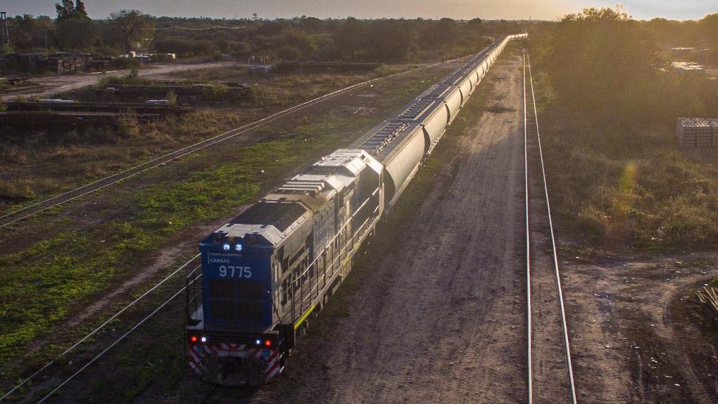 Trenes Argentinos transportó en julio un 61% más de carga que en el mismo mes de 2020