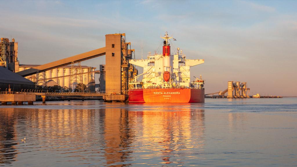 Récords en Bahía Blanca: 6,4% más de carga que en 2020 y  12,2% más que en 2019