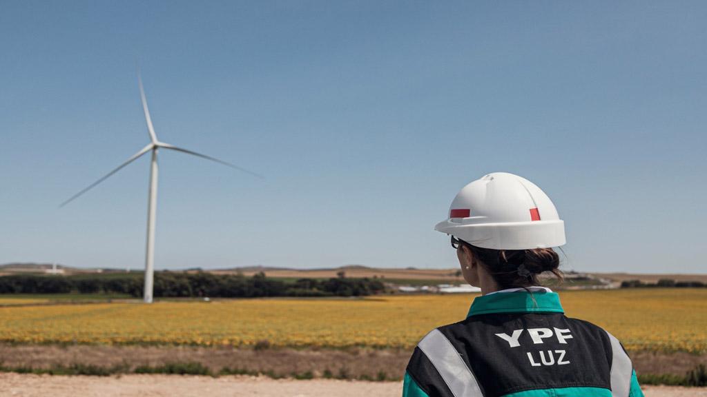 YPF es líder del mercado local en utilización de renovables