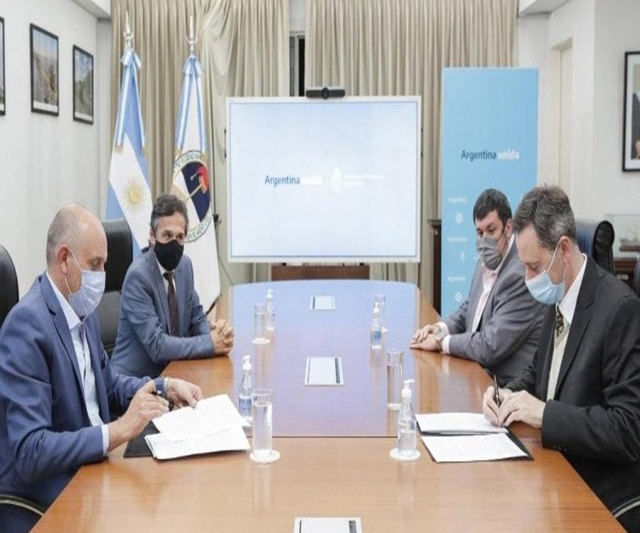 Se firmó el contrato para que la AGP inicie la gestión temporal de la Hidrovía