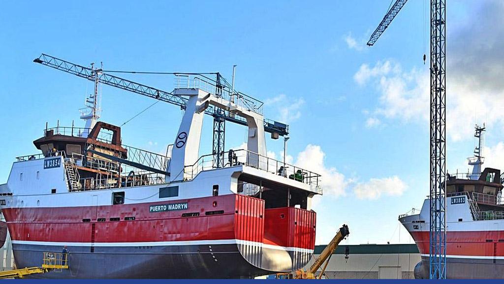 Iberconsa manda a construir otro buque en España para Pesquera Santa Cruz