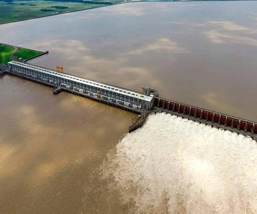 """""""Es muy probable que se profundice la bajante del río Paraná"""", dicen desde el Ente Yacyretá"""