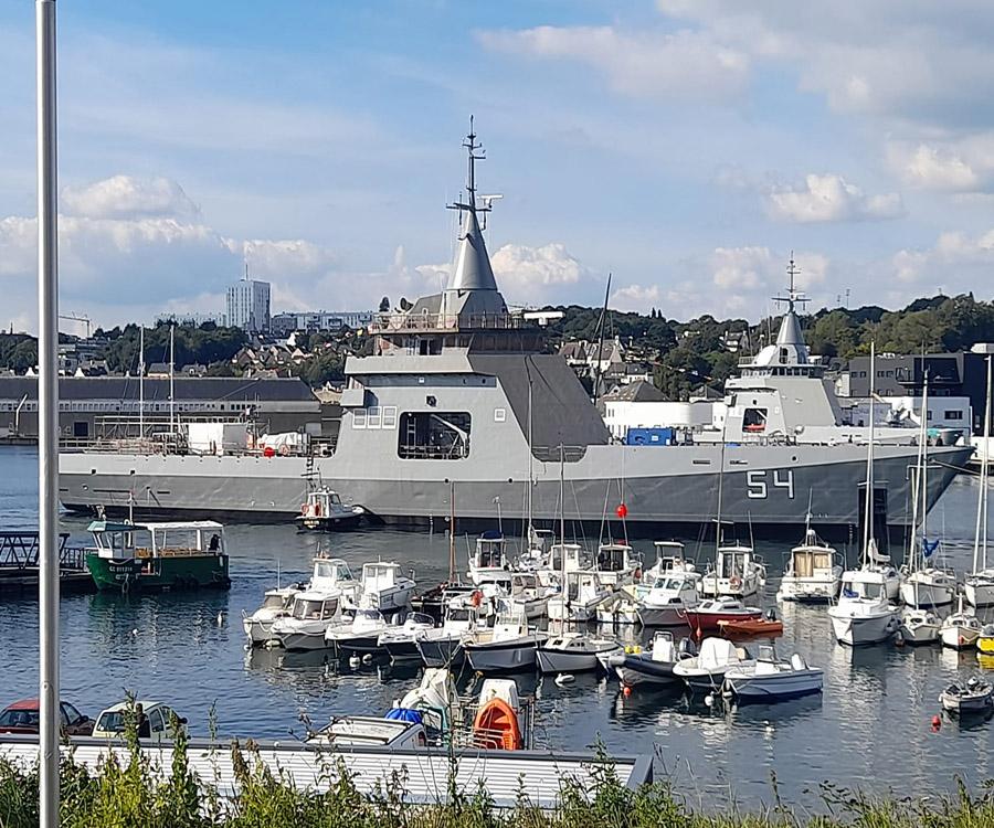 Avanza la construcción de los dos últimos buques comprados para controlar el mar
