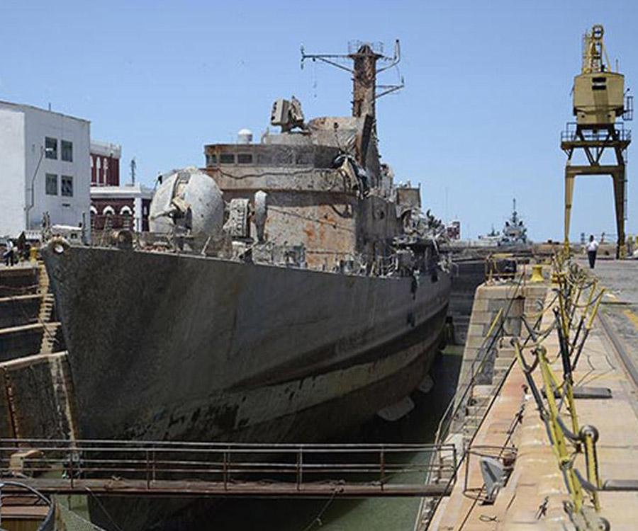 Un juez dispuso suspender la venta como chatarra del buque ARA Santísima Trinidad