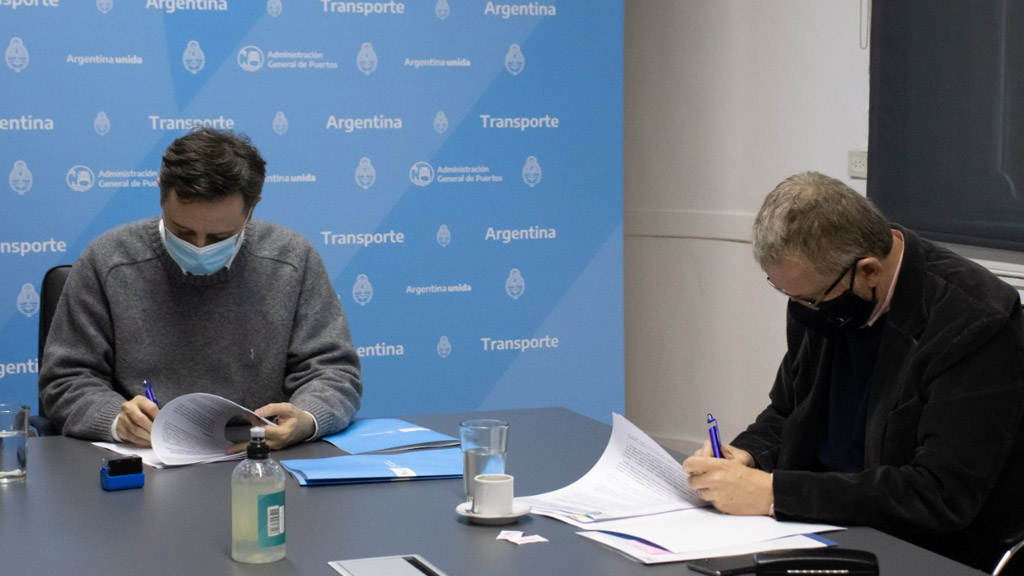 Acuerdo entre AGP y Tandanor para la remoción y desguace del buque Solidor II