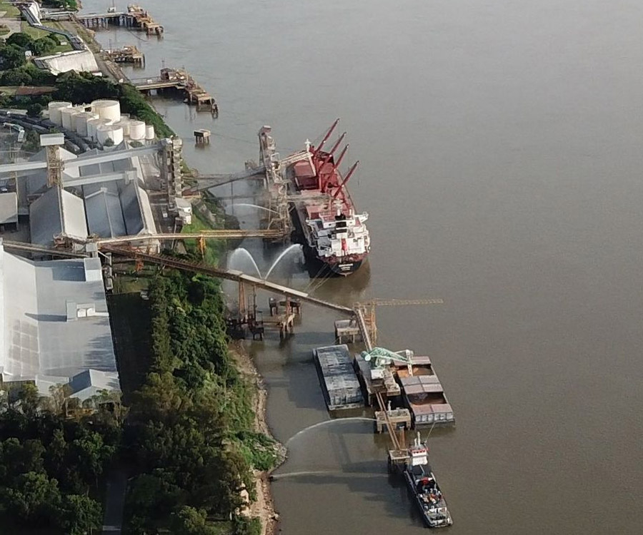 Up River: se perdieron US$ 620 millones en exportaciones de harina y aceite de soja