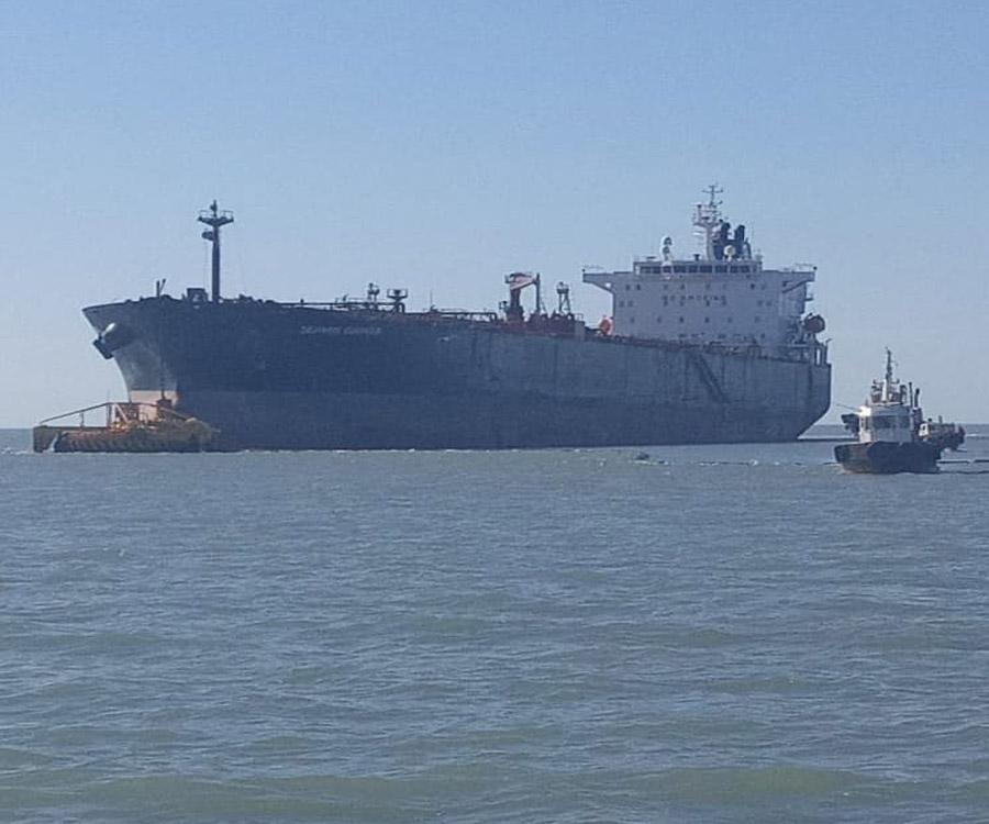 Nueva exportación de petróleo de Vaca Muerta por Puerto Rosales