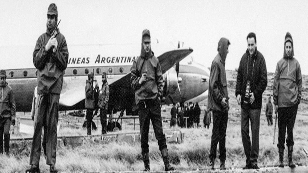 A 55 años del secuestro y desvío a Malvinas de un avión de Aerolíneas Argentinas