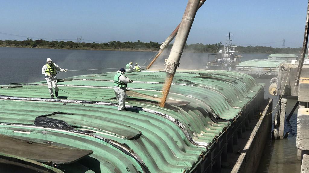 Por primera vez en los últimos 20 años, el puerto de Santa Fe superó las 100 mil toneladas