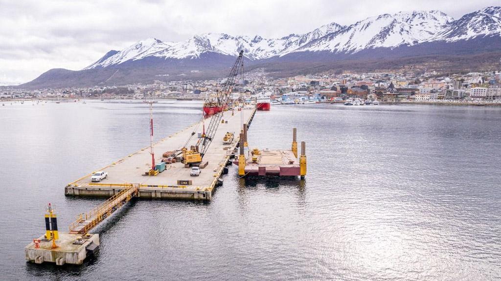 Aporte de $200 millones del Gobierno nacional para la ampliación del puerto de Ushuaia