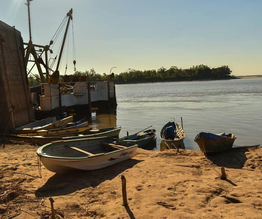 Ahora estiman que la bajante del río Paraná no llegará al pico de 1944