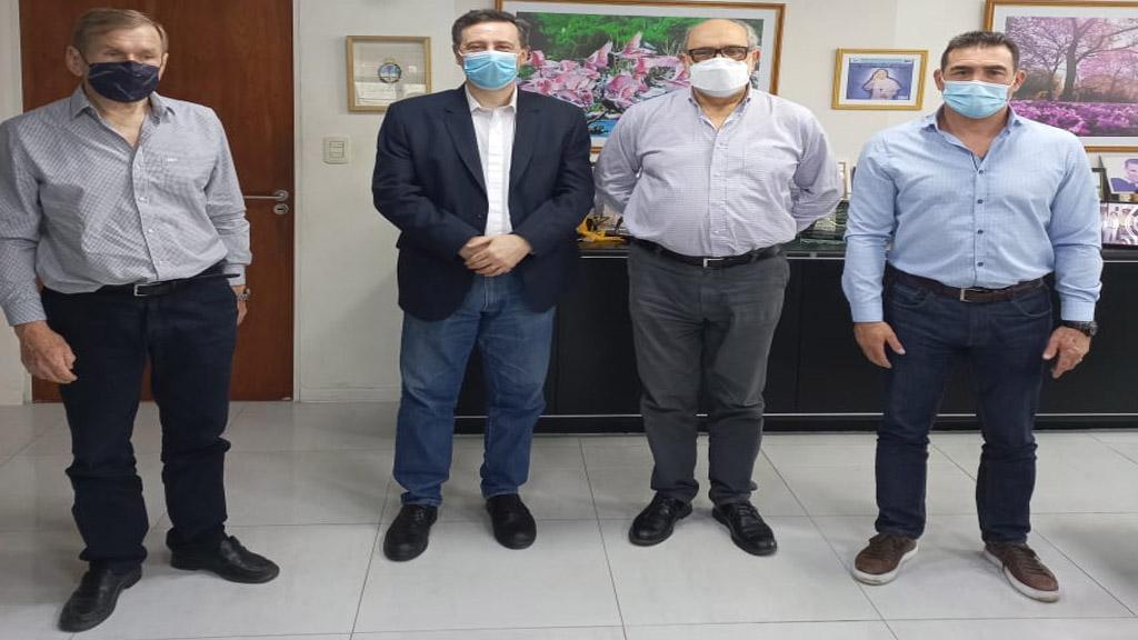 Las autoridades de la AGP visitaron los puertos de Formosa y Pilcomayo