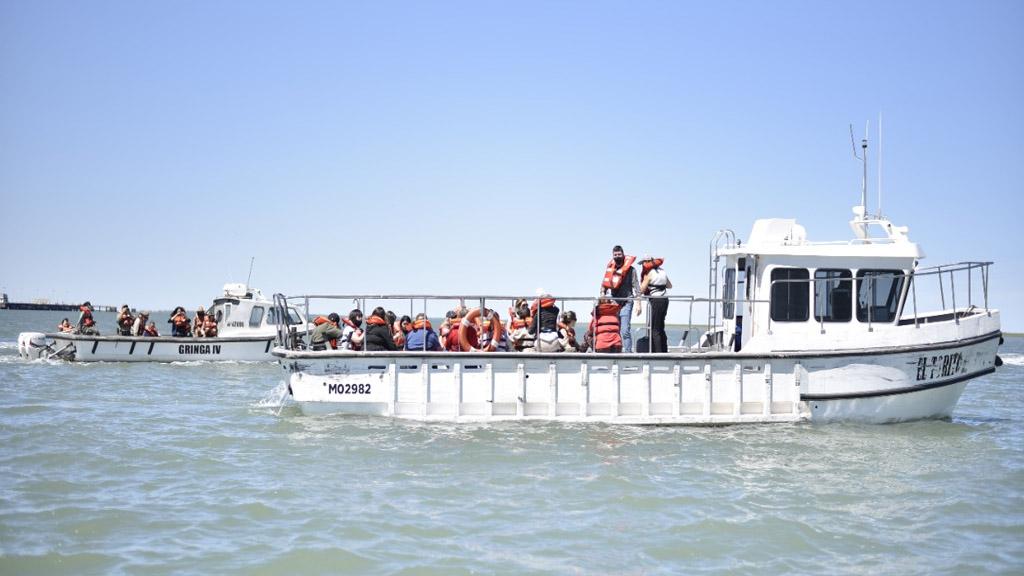 """Fue presentado el programa educativo """"Sembrar Futuro"""" en el puerto de Bahía Blanca"""