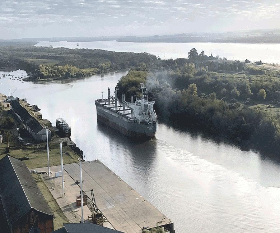 También hay quienes sueñan con hacer realidad una segunda Hidrovía troncal en el río Uruguay