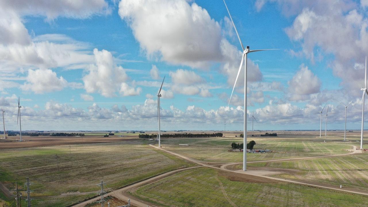 Pampa Energía frena la construcción de un nuevo parque eólico en el sur bonaerense