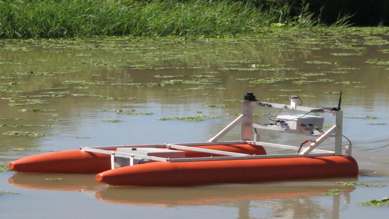 La UBA desarrolla robots autónomos para el monitoreo ambiental en medios acuáticos