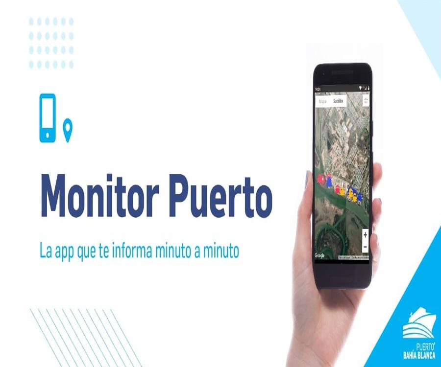 El puerto de Bahía Blanca lanzó la aplicación Monitor Puerto