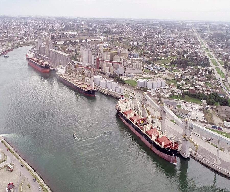 Se proyecta en Puerto Quequén el desarrollo de un nuevo muelle pesquero