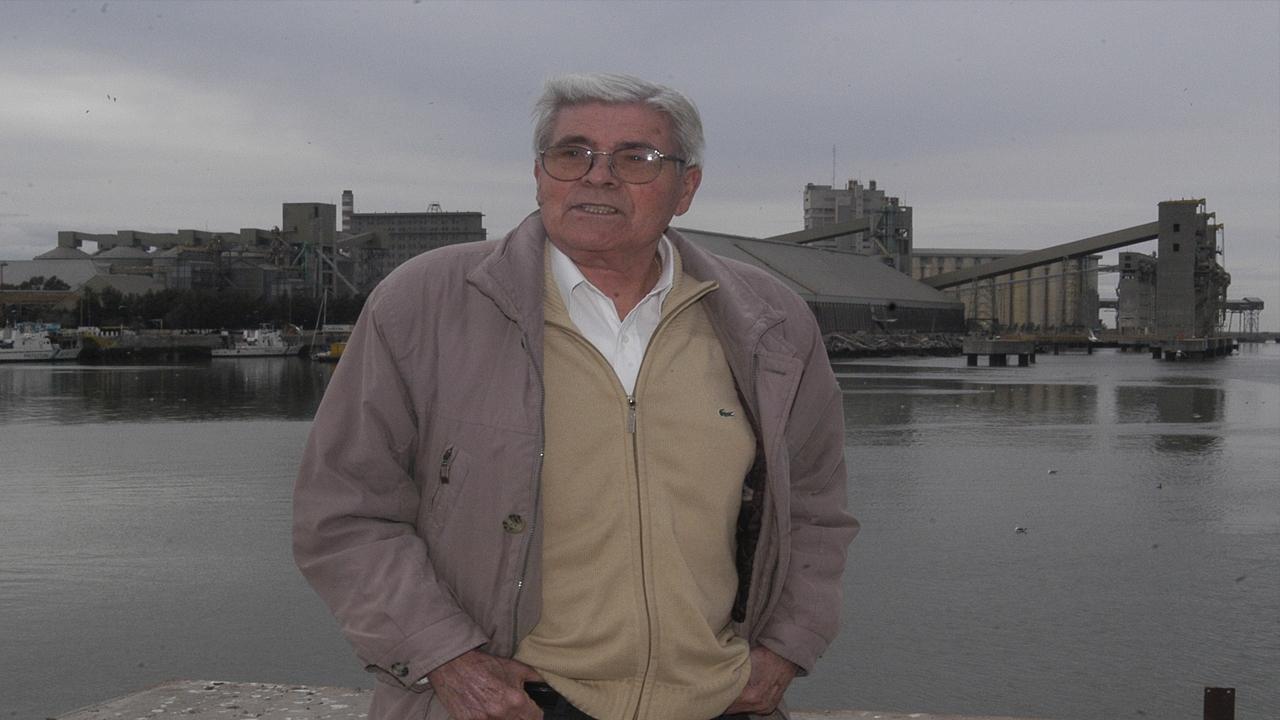 Murió José Egidio Conte, pionero de la  autonomía del puerto de Bahía Blanca