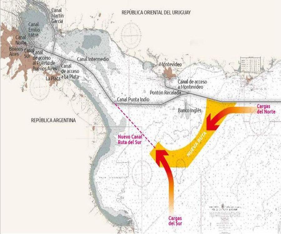Análisis de la superioridad técnica y económica del canal Magdalena frente al canal Punta Indio