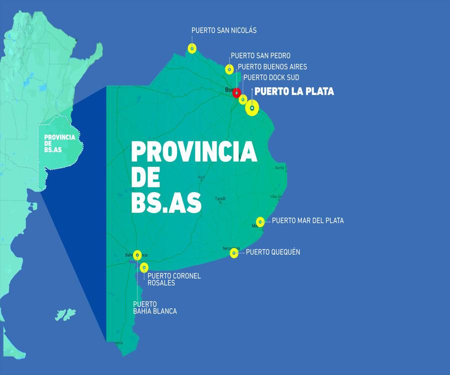 Confirmado: ya hay un proyecto de Ley de Puertos en la Provincia de Buenos Aires