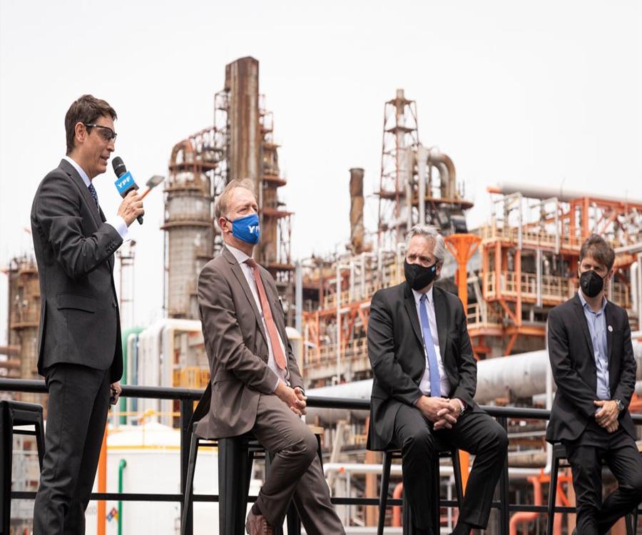 YPF inauguró su central térmica La Plata Cogeneración II en la localidad de Ensenada