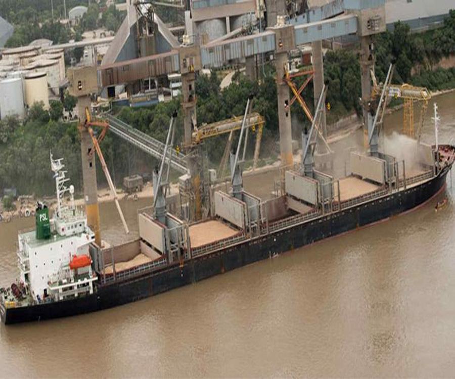 Habrá menos embarques de trigo en los puertos del Paraná y más en Bahía Blanca y Quequén