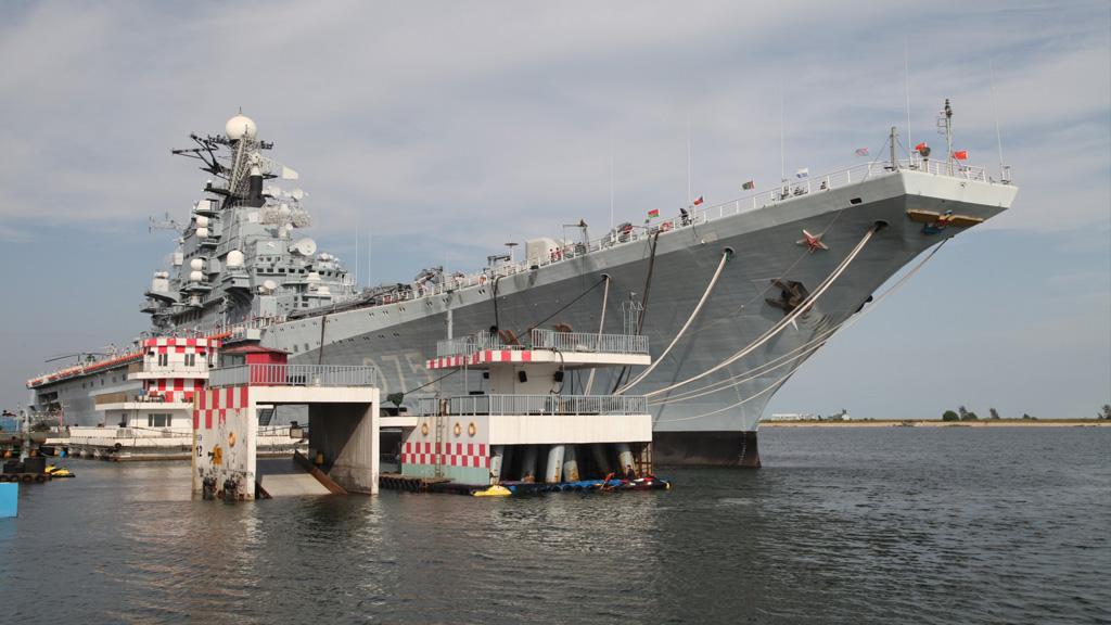 Cómo los portaviones soviéticos se convirtieron en parques de atracciones en China