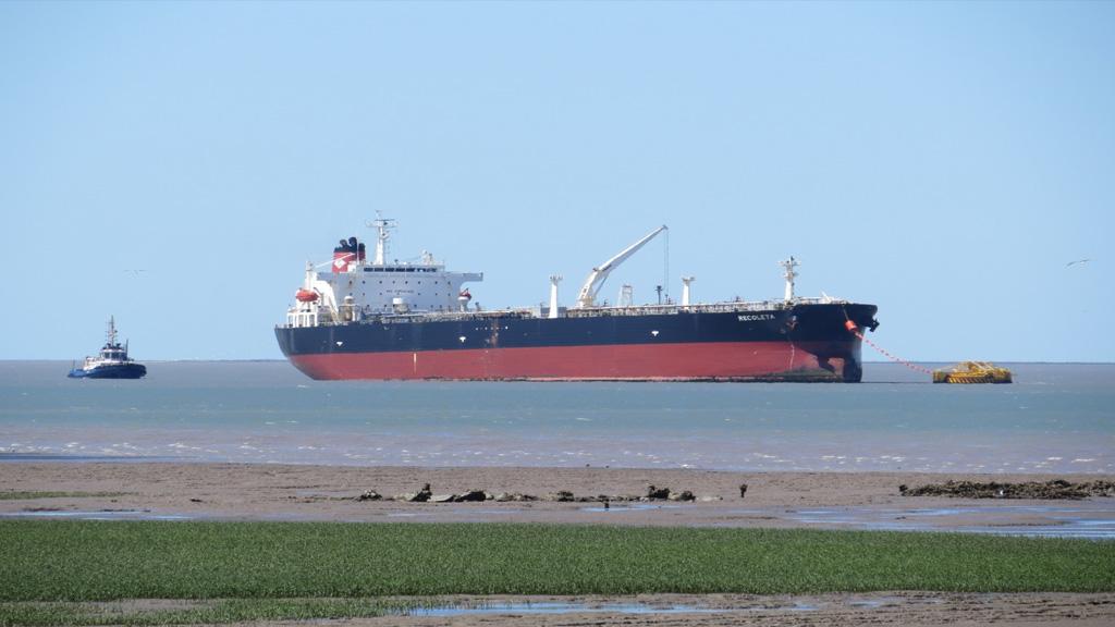 El petróleo de Vaca Muerta permitió a Puerto Rosales cerrar un buen 2020