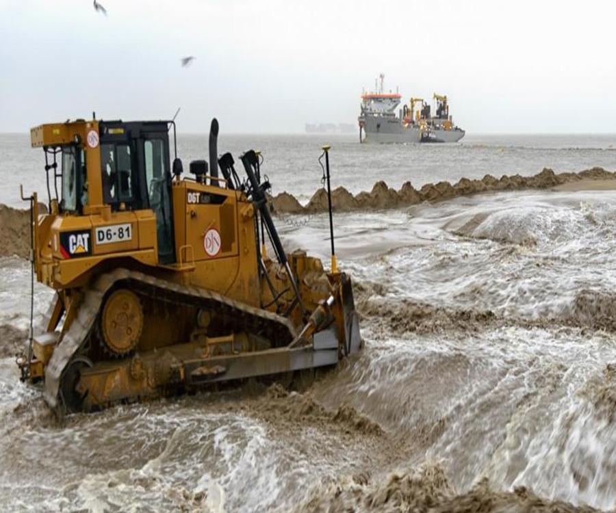 Lanzan un plan de reposición de playas 100% sostenible