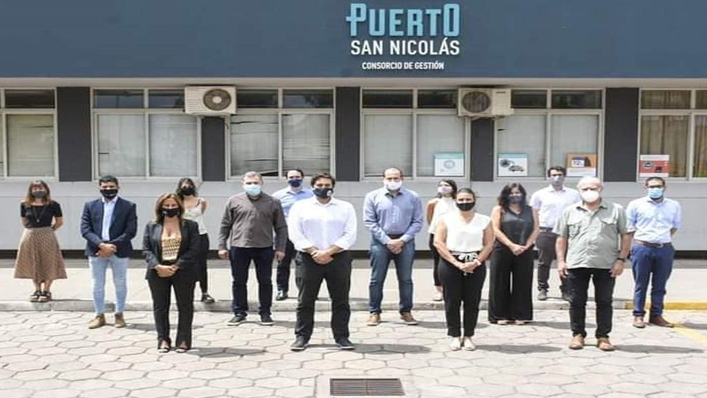 El ministro  Augusto Costa insistió en la complementariedad de los puertos bonaerenses