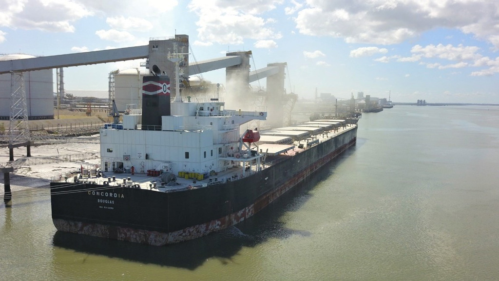 Es incesante actividad en los puertos de Bahía Blanca y Quequén tras el paro