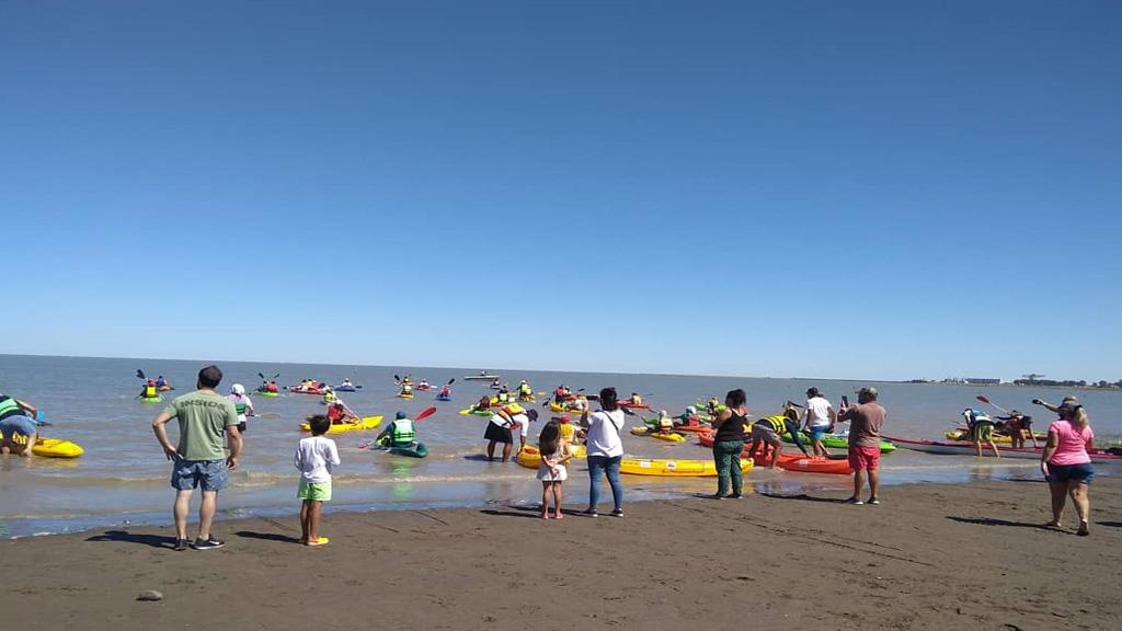 Travesía náutica costera con apoyo del Consorcio de Gestión de Puerto Rosales