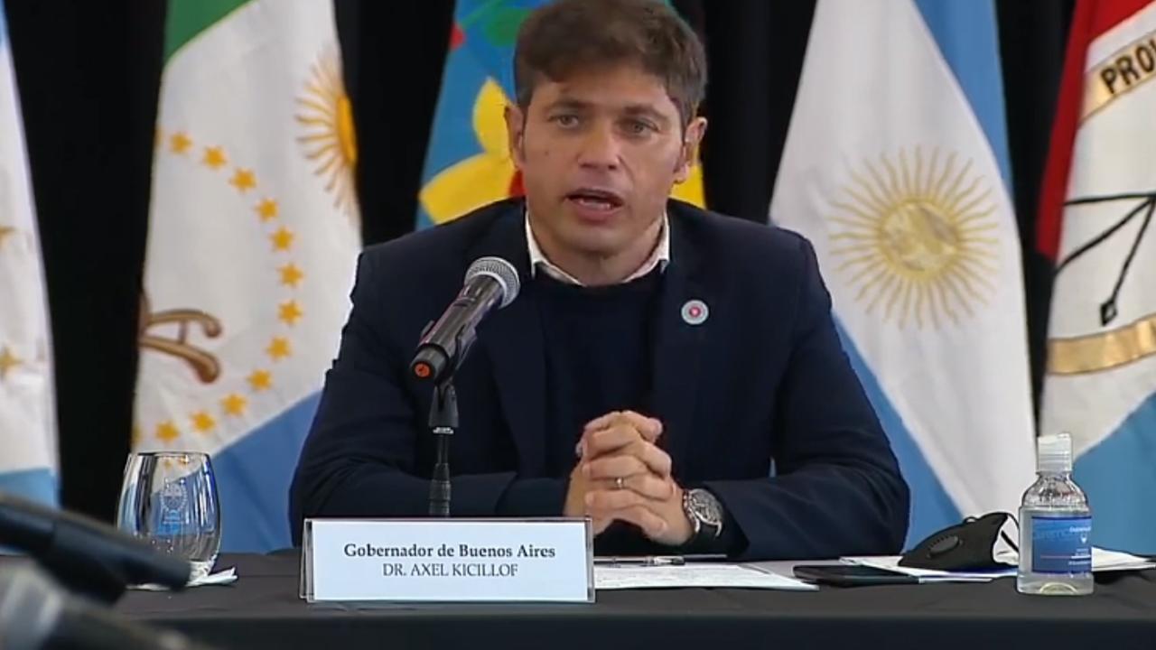 Kicillof pidió por el canal Magdalena y el control del contrabando en la Hidrovía