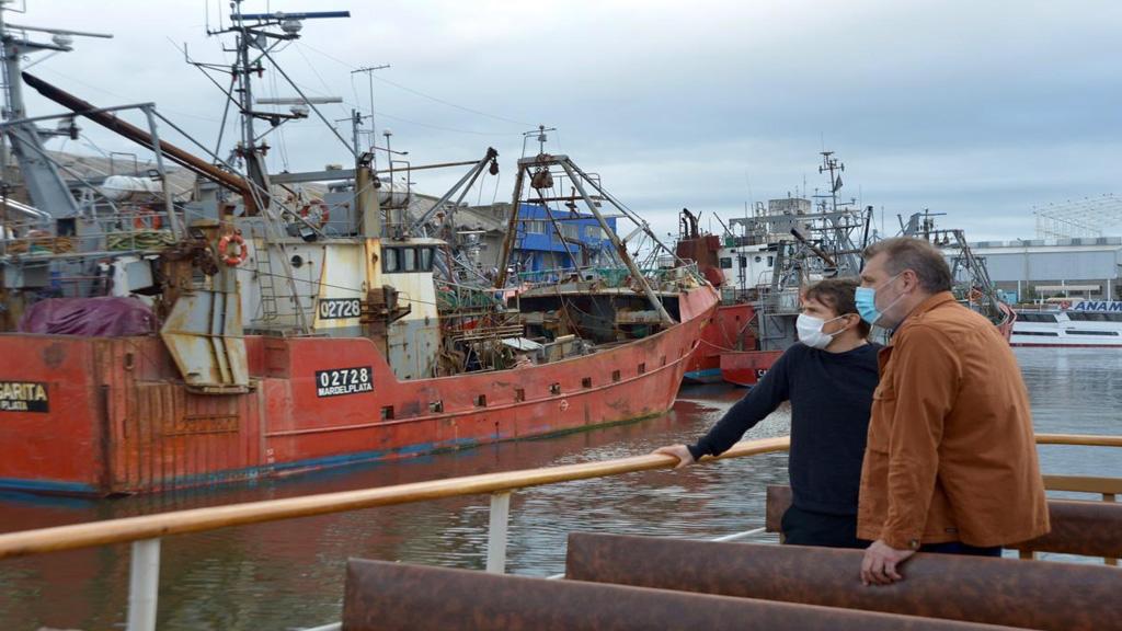 Dragado en Mar del Plata: Costa se mostró confiado en un pronto inicio de las obras