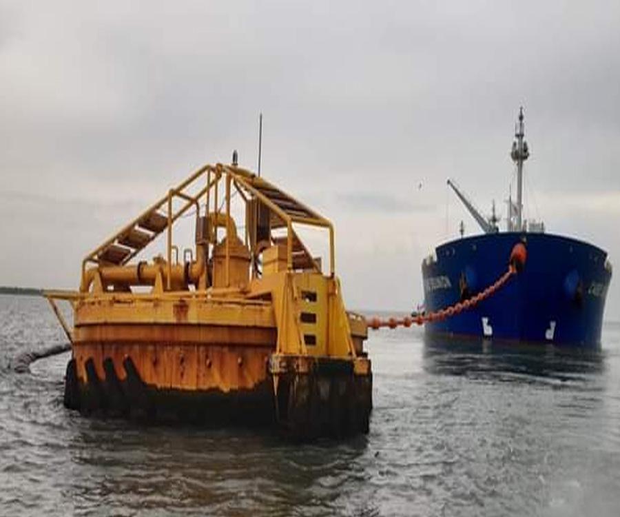 Puerto Rosales se consolida en la exportación del crudo de Vaca Muerta