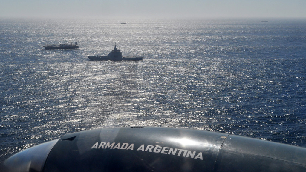El ARA Bouchard volvió a Mar del Plata tras una nueva patrulla de control en el mar