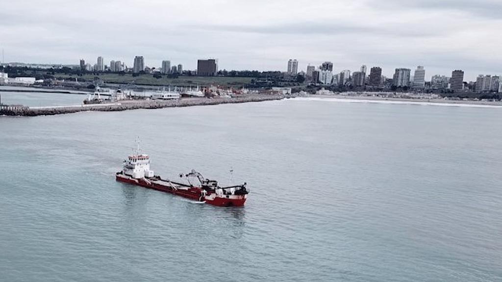 Lanzan un segundo llamado a licitación para el dragado del puerto de Mar del Plata