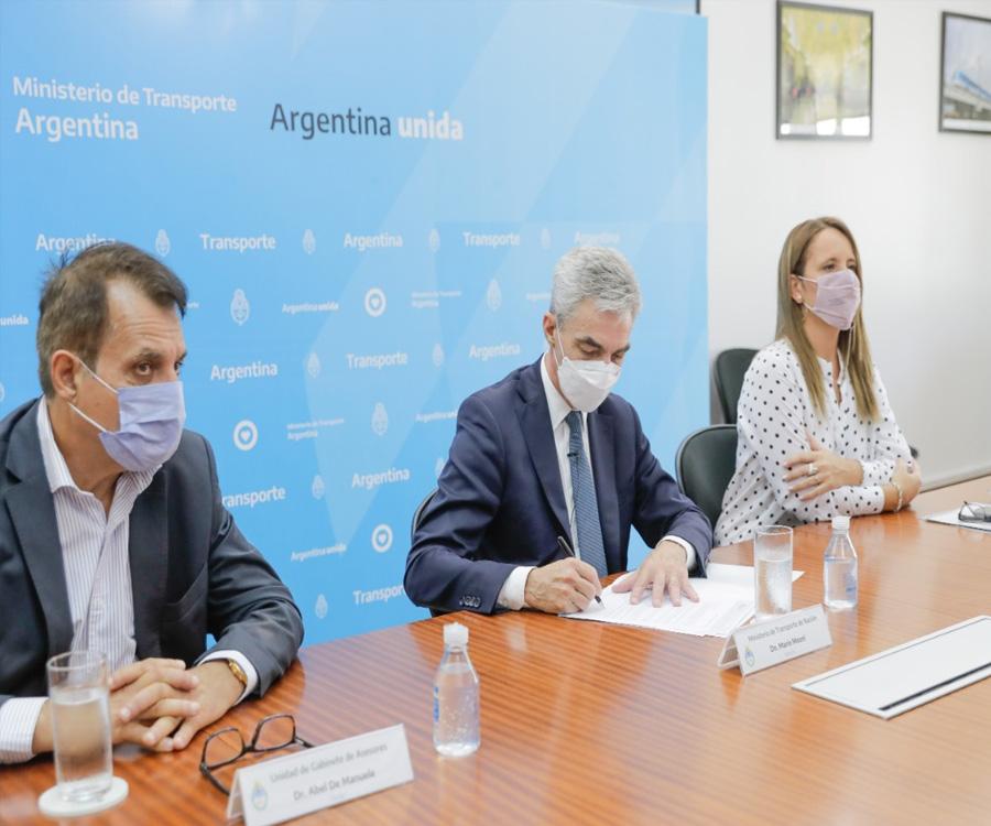 Hidrovía: acuerdo con la OCDE para consolidar el proceso de transparencia en la licitación