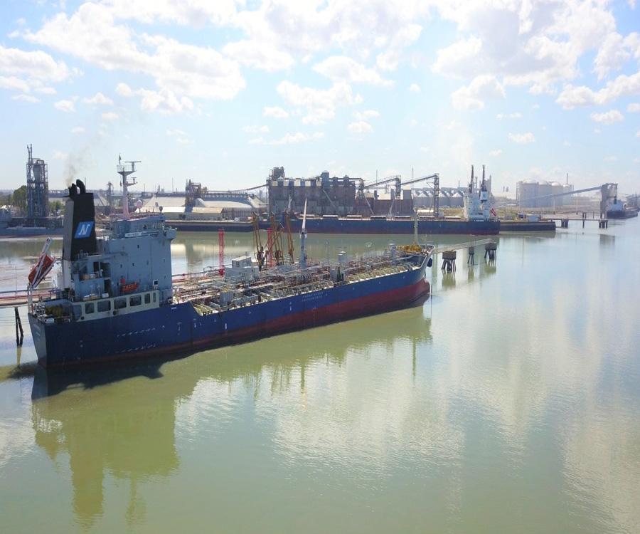 El Puerto de Bahía Blanca anunció el logro de cifras significativas en el primer trimestre