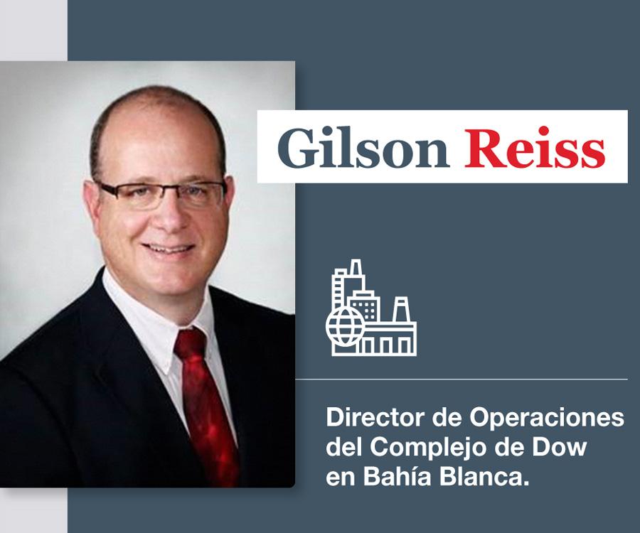 Dow designa a Gilson Reiss como director de Operaciones en su complejo de Bahía Blanca