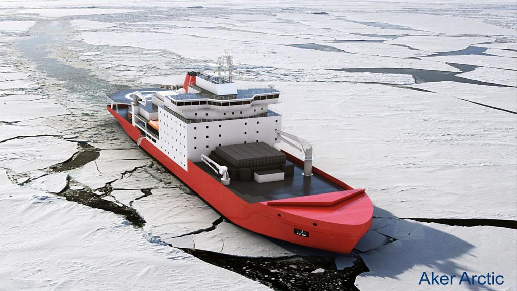 Visita finlandesa a Tandanor e intercambio técnico sobre el proyecto del buque polar